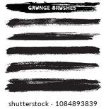 grunge brushes set.vector...   Shutterstock .eps vector #1084893839
