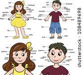 cartoon boy and girl....   Shutterstock .eps vector #108489698