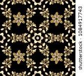 antique golden repeatable...   Shutterstock .eps vector #1084917743