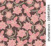floral seamless pattern | Shutterstock .eps vector #108491894