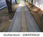 a disable friendly pedestrian... | Shutterstock . vector #1084930610
