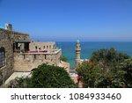 tel aviv   jaffa  israel  ... | Shutterstock . vector #1084933460