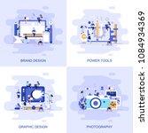modern flat concept web banner... | Shutterstock .eps vector #1084934369