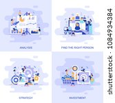 modern flat concept web banner... | Shutterstock .eps vector #1084934384