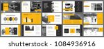 black and yellow statistics or... | Shutterstock .eps vector #1084936916