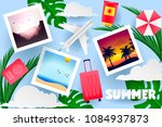 summer design view of the... | Shutterstock .eps vector #1084937873