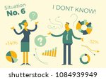 business infographics with... | Shutterstock .eps vector #1084939949