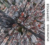 aerial view of the city of... | Shutterstock . vector #1084949318