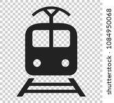train transportation icon....   Shutterstock .eps vector #1084950068