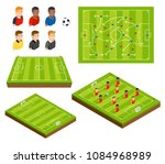 soccer football field and... | Shutterstock .eps vector #1084968989