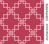 red and pale pink geometric... | Shutterstock .eps vector #1084969898
