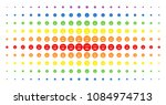 pension smiley icon spectral... | Shutterstock .eps vector #1084974713