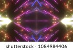 neon violet lights background.... | Shutterstock . vector #1084984406