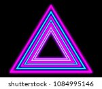abstract neon design background.... | Shutterstock . vector #1084995146