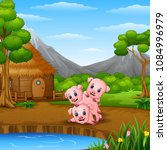 Three Little Pigs Are Playing...