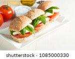 close up photo of sandwich ... | Shutterstock . vector #1085000330