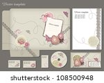 business style template. please ... | Shutterstock .eps vector #108500948