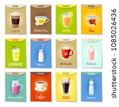 set of ad cards  banners  tags  ... | Shutterstock . vector #1085026436