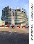 strasbourg  france   august 7 ... | Shutterstock . vector #1085032220