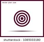 target vector icon | Shutterstock .eps vector #1085033180