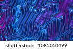 3d render  abstract ultraviolet ... | Shutterstock . vector #1085050499