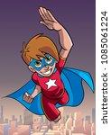 full length cartoon...   Shutterstock .eps vector #1085061224