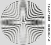 concentric circles  concentric... | Shutterstock .eps vector #1085084453