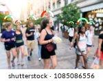 personal social credit score.... | Shutterstock . vector #1085086556