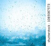 water drop texture background...   Shutterstock . vector #1085087573