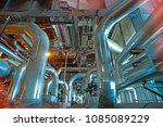 equipment  cables and piping as ... | Shutterstock . vector #1085089229