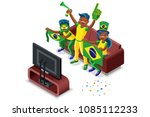 russia 2018 world cup ... | Shutterstock .eps vector #1085112233
