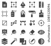 vector graphic design icons ... | Shutterstock .eps vector #1085120096
