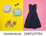 fashionable concept. female... | Shutterstock . vector #1085129786