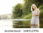 Beautiful Girl In Water