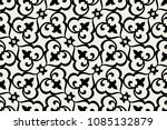 vintage abstract floral... | Shutterstock .eps vector #1085132879