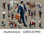 businessmen executive people in ... | Shutterstock .eps vector #1085132990