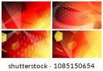 set of four football or soccer... | Shutterstock .eps vector #1085150654