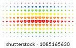 cardiology icon spectrum... | Shutterstock .eps vector #1085165630
