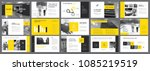 yellow  white and grey...   Shutterstock .eps vector #1085219519