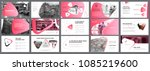 pink  white and black... | Shutterstock .eps vector #1085219600
