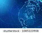 global business and... | Shutterstock . vector #1085223908