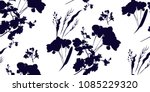 floral seamless pattern with... | Shutterstock .eps vector #1085229320