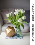interior. room. a bouquet of... | Shutterstock . vector #1085234450