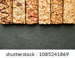row of mixed gluten free... | Shutterstock . vector #1085241869