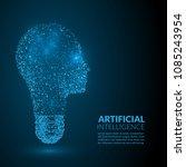 abstract illustration of... | Shutterstock .eps vector #1085243954