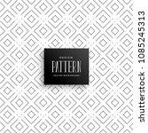 elegant subtle line pattern... | Shutterstock .eps vector #1085245313