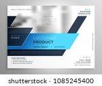 creative blue modern business... | Shutterstock .eps vector #1085245400