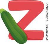 illustration of vegetables... | Shutterstock .eps vector #1085248820