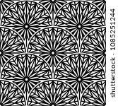 elegant ornamental seamless... | Shutterstock .eps vector #1085251244