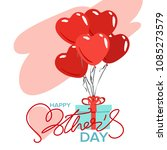happy mothers day greeting card ... | Shutterstock .eps vector #1085273579